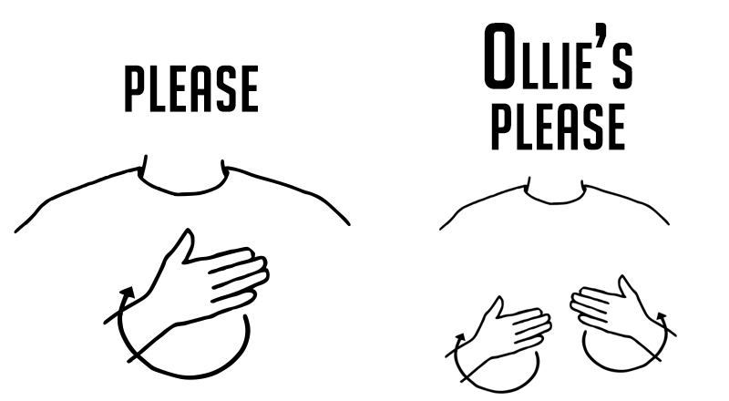 Ollie's Please Sign Language