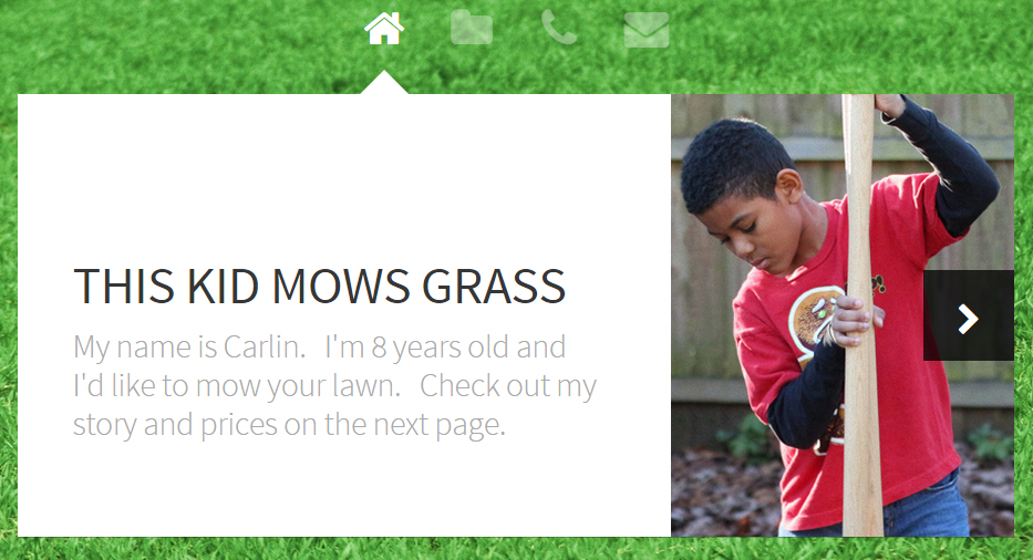 kidmowsgrass.com at PlaidDadBlog.com