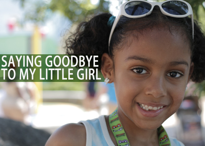 Saying Goodbye To My Little Girl - PlaidDadBlog.com