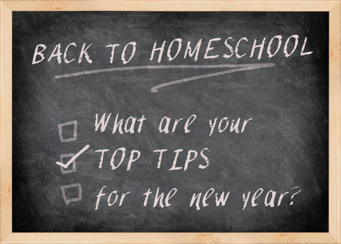 Homeschool Top Tips and Prep Steps at PlaidDadBlog.com