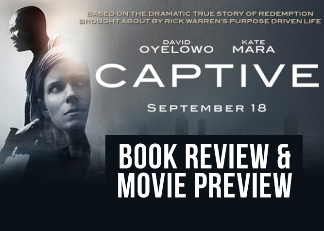 Captive Book Review And Movie Preview at PlaidDadBlog.com