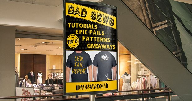 Announcing new site DadSews.com at PLaidDadBlog.com