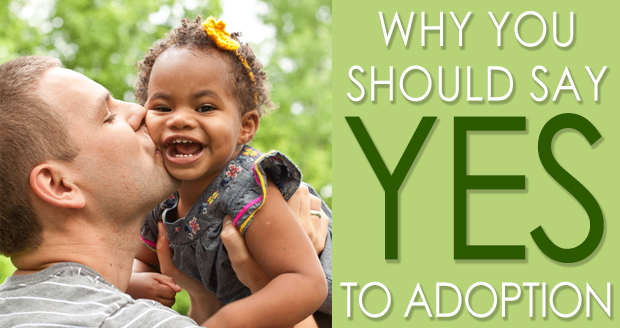Why You Should Say Yes To Adoption at PlaidDadBlog.com