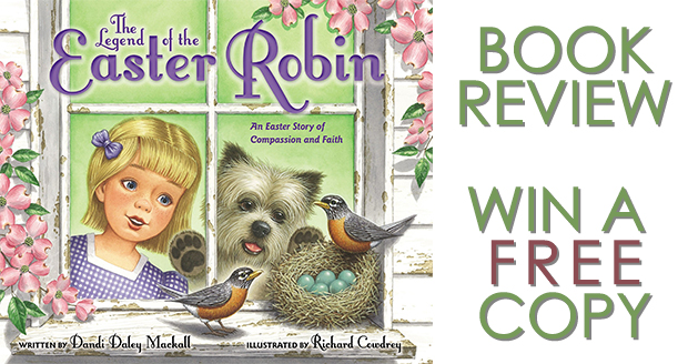 The Legend of the Easter Robin - Book Review and Giveaway