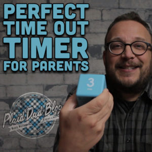 Perfect Time Out Timer For Parents Plus LEGO Bowties from Play-Well.org at PlaidDadBlog.com