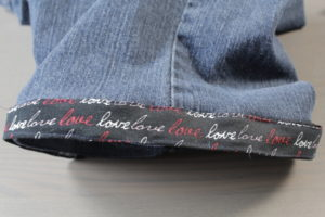 Dad Sews Easy Cut Off Jeans with Bows - REMOVABLE & CUSTOMIZABLE