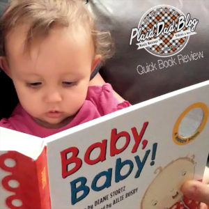 'Baby Baby!' children's book review at PlaiddadBlog.com
