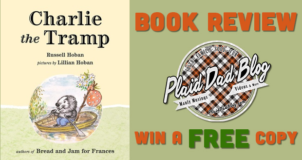 Charlie the Tramp by Russell Hoban win a free book copy - PlaidDadBlog.com