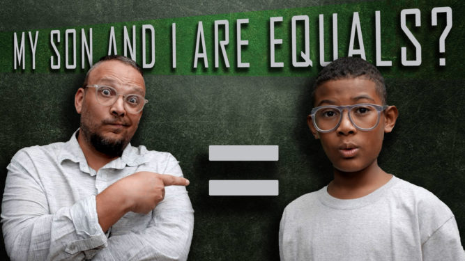 My son is my Equal.... for fifteen minutes a day - PlaidDadBlog - podcasting with your kids