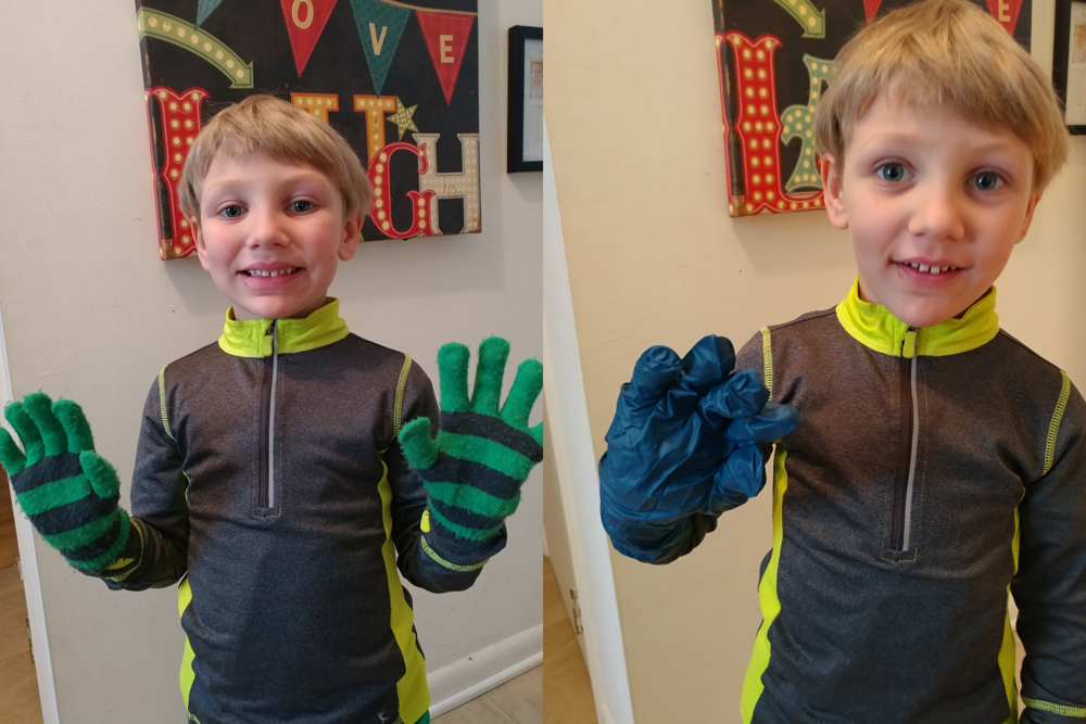 PlaidDadBlog Snow Hacks for parents and kids - glove hack
