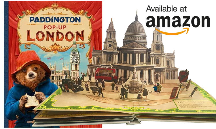 Art Your Child Needs To Witness - See Paddington 2 Now! - Buy the Paddington 2 pop-up book now!