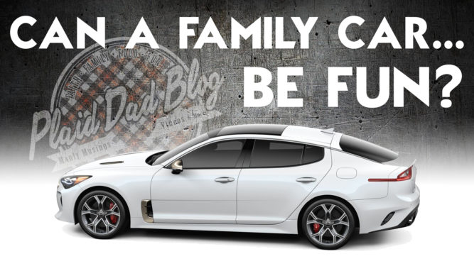 Can A Family Car Be Funn? Kia Stinger family car review