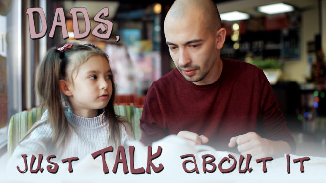 Let's talk about sex, Daddy - Daddy Daughter Sex Talk - PlaidDadBlog